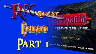 RPG Quest #171: Castlevania: Symphony of the Night (PS1) Part 1