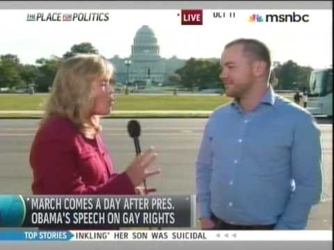 Towleroad's Corey Johnson at the National Equality March October 11, 2009 Mp3