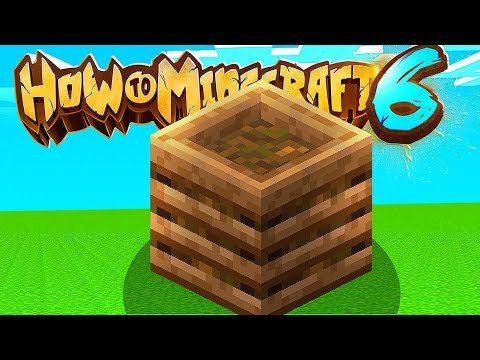 The Minecraft Composter Is The MOST Underrated Update - How To Minecraft 1.14 SMP #4 | JeromeASF