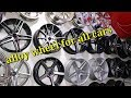 alloy weels fpr all car cheap price best quality latest alloy/karol bagh alloy weels market
