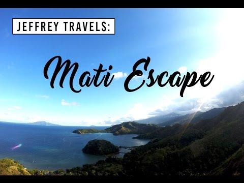 Mati Escape - JEFFREY MONDIA Vlog #8