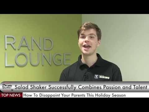 Slant TV: Local Student Shakes Salads for Money