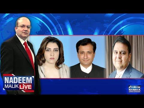 Nadeem Malik Live - SAMAA TV - 09 Oct 2017