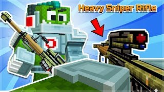 HEAVY SNIPER RIFLE IS IT WORTH THE PRICETAG WEAPON REVIEW | PIXEL GUN 3D