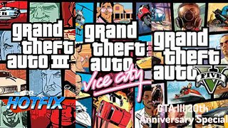 GDQ Hotfix presents Grand Theft Auto III 20th Anniversary Special