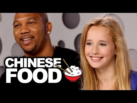 """Chinese Food's"" Alison Gold Taste Tests Chinese Food & Sings ""Junk Food"""