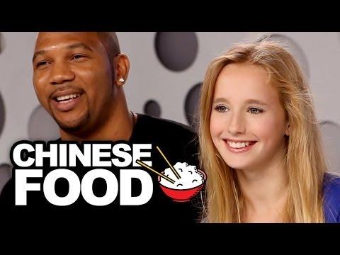 Chinese Foods Alison Gold Taste Tests Chinese Food & Sings Junk Food