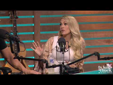Carrie Underwood Describes How Her Son, Isaiah, is Already a Ladies Man