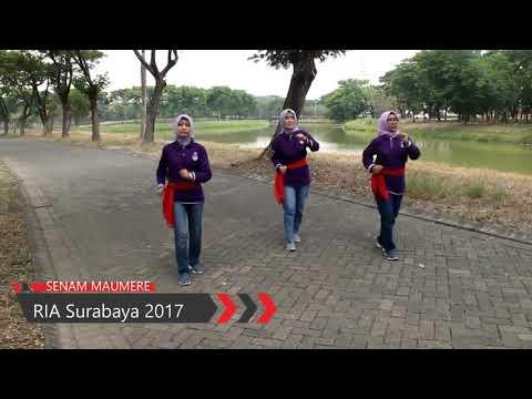 Senam Maumere RIA Sby 2017