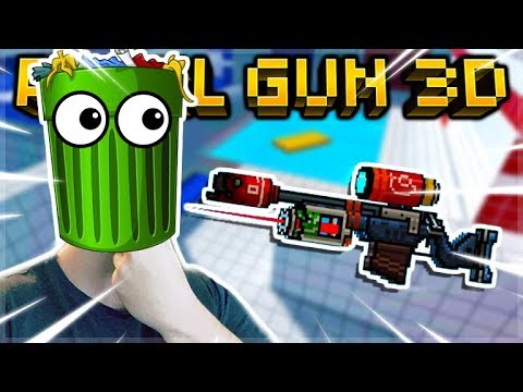IS THE GARBAGE RIFLE ACTUALLY GARBAGE? LEGENDARY SNIPER REVIEW | Pixel Gun 3D