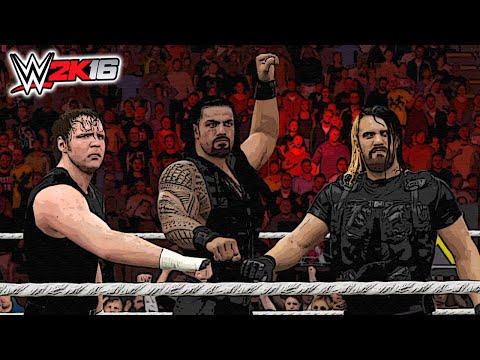 WWE 2K16 - The Shield Reunite & Destroy...