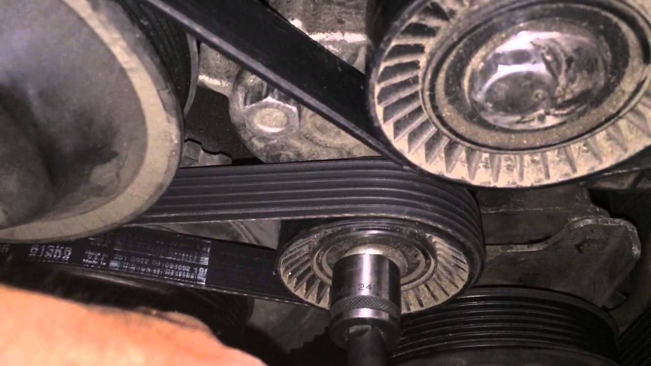 Tip V Belt Diagram Bmw 5 Series 3 Series E90 E39 528i 328i M5 M3 Youtube