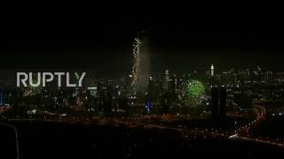 UAE: Dubai welcomes 2017 with massive fireworks display