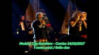 Modena City Ramblers - I cento passi/ Bella ciao - Comiso 14/10/2017