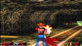 Duke Nukem: Time to Kill Прохождение Уровень 3 ( все секреты и апгрейды) HD PS1