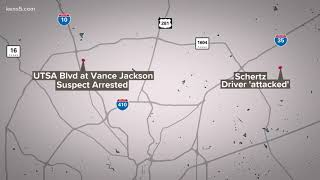 Police arrest driver accused of following another car in road rage incident