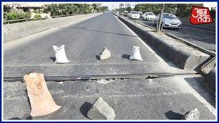 shatak aaj tak major crack spotted at lalbaug flyover