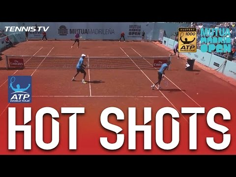 Jack Sock's Stunning Around-The-Post Hot Shot In Madrid 2017