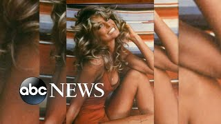 Farrah Fawcett's life from iconic red swimsuit poster to 'Charlie's Angels'