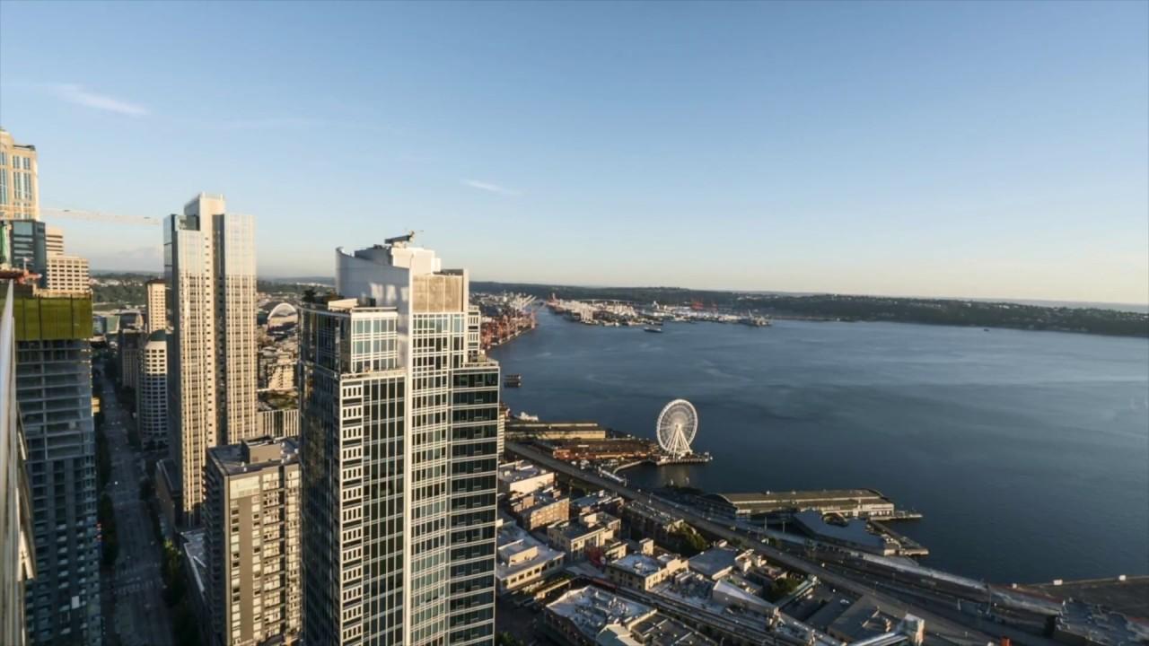Helios Apartments - Seattle - View Time-lapse - YouTube