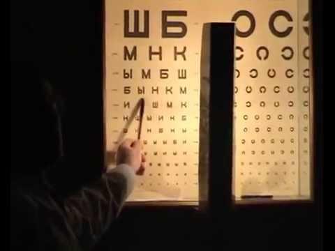 Определение остроты зрения (визометрия)