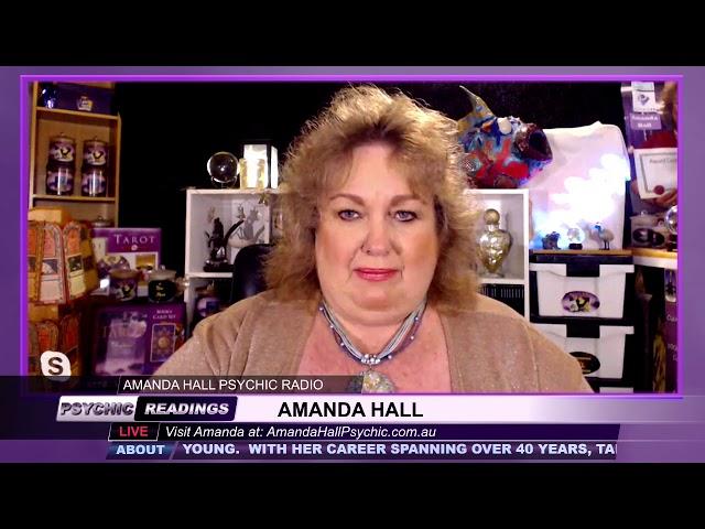 Amanda Hall Psychic - March 12, 2019