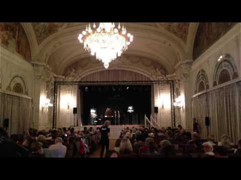 Guy Mintus'  prize winning performance, Montruex Jazz Festival's Solo Piano Competition