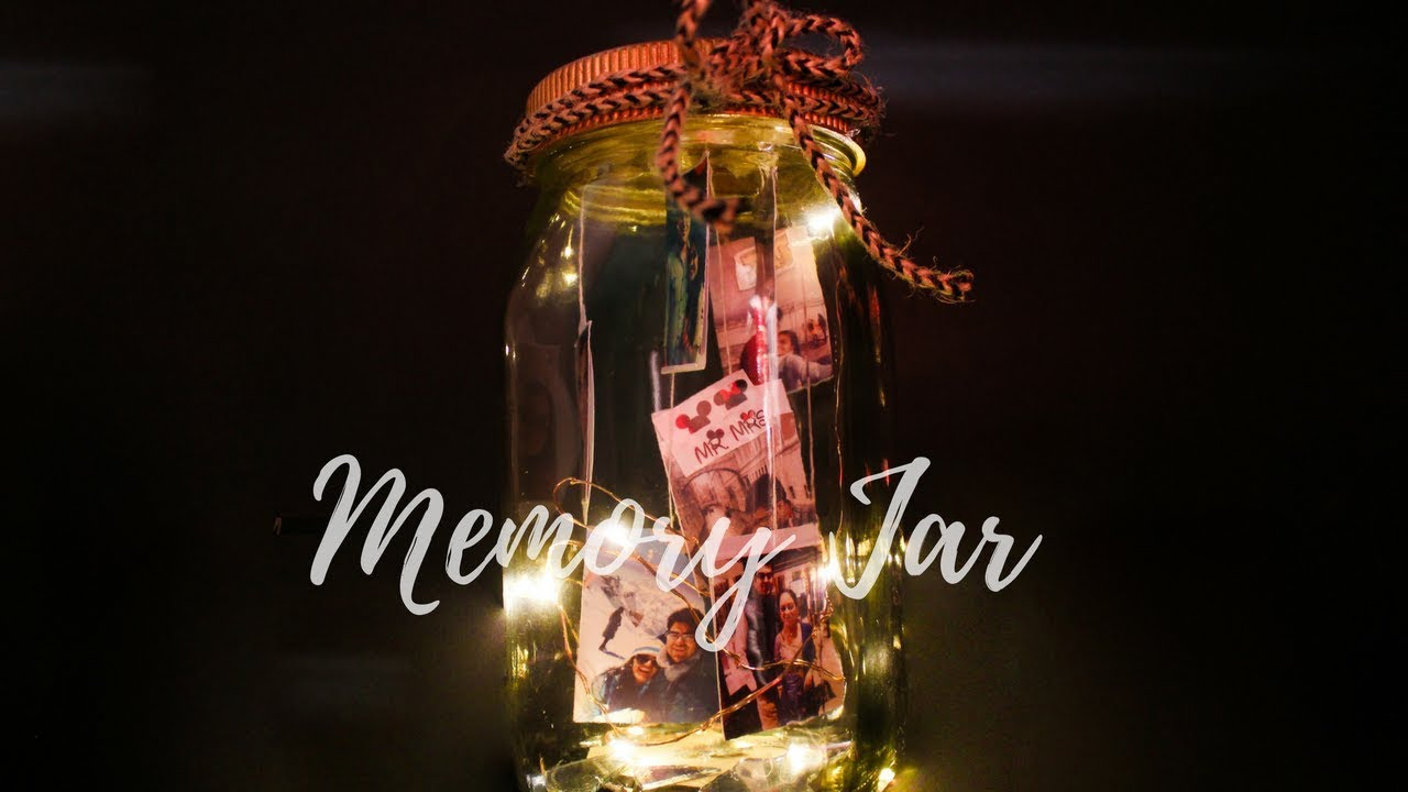 How To Make Fairy Lights Photograph Memory Jar Amazing Gift Idea Room Decor Idea For Diwali 2020 Youtube