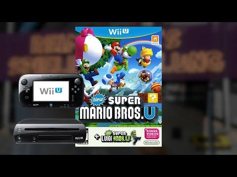 Gameplay : New Super Mario Bros. U  [WII U]