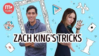 Recreating Zach King's tricks – a New Year's tradition by the Movavi Vlog (2018)