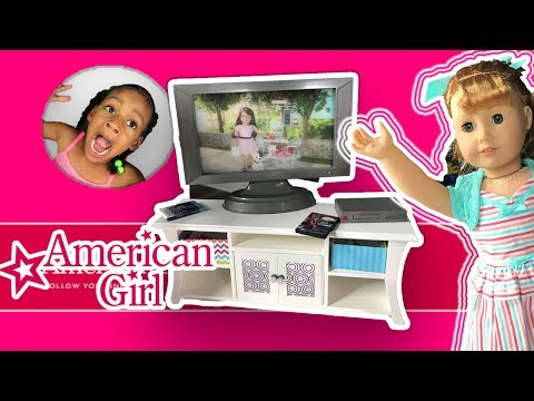 Thumbnail: AG Design A Friend Dolls Surprise Slumber Party ! American Girl Doll Sleepover Haul