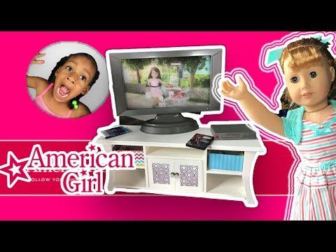 AG Design A Friend Dolls Surprise Slumber Party ! American Girl Doll Sleepover Haul
