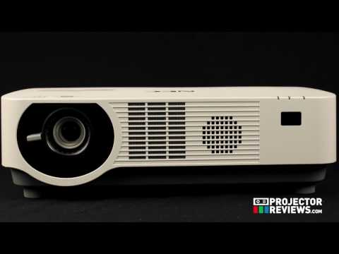 NEC NP-P502WL Hardware Tour presented by Projector Reviews TV