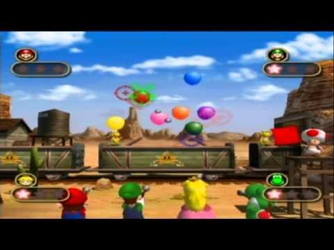 GCN Nostalgia - Mario Party 4:  All 4-player Mini-games
