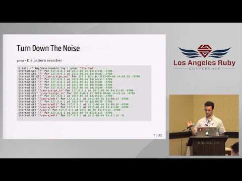 LA Rubyconf 2015- Practical Unix for Ruby & Rails by Ylan Segal
