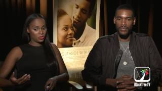 Tika Sumpter  and Parker Sawyers Interview Southside With You