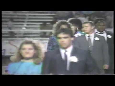 1988 Opp High School Homecoming Court and Senior Player Introduction