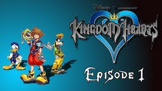 Let's play kingdom hearts episode 1 :: lost in darkness