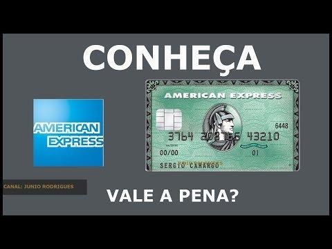 American Express Green Card - Será Que Vale A Pena? #2019