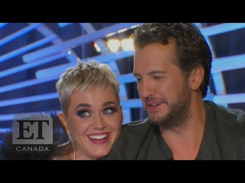 Katy Perry Flirts With 'American Idol' Contestant