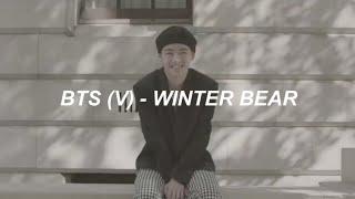 V (BTS) - 'Winter Bear' Lyrics
