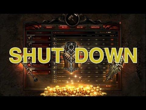 Blizzard Shuts Down Diablo 3's Auction House