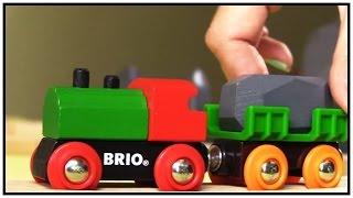 Kids 3d Mega Train Construction Vehicles Brio Toys Demo (เด็กของเล่นยานพาหนะงาน/xây Dựng đồ Chơi