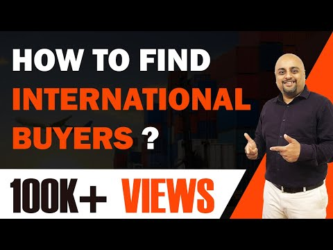 How to Find International Buyers