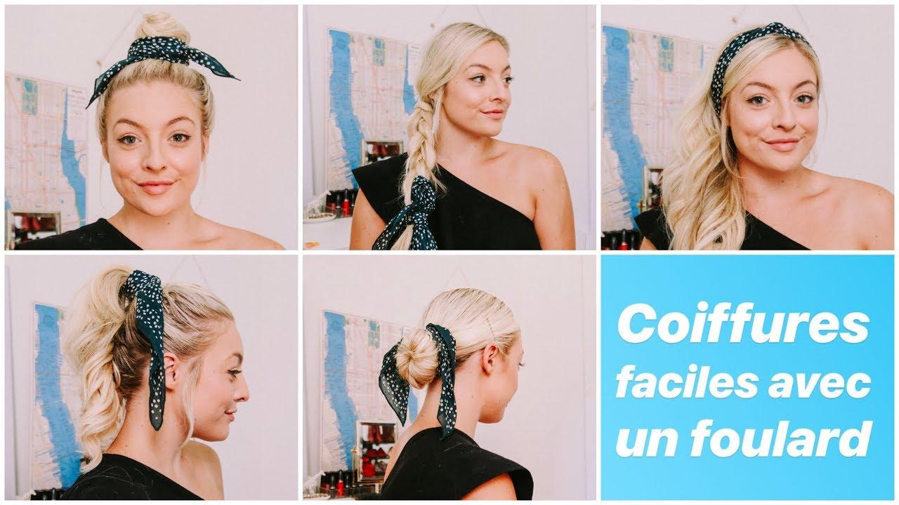 prix le plus bas style de mode le plus en vogue 5 coiffures faciles avec un foulard !