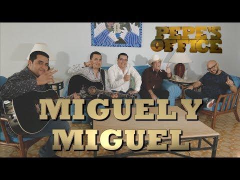MIGUEL Y MIGUEL EN CONFIANZA CON PEPE - Pepe's Office