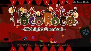 LocoRoco Midnight Carnival Title Theme Animatic (2009, Sony)