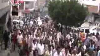 تعز مسيرة مطالبة بإعدام القتلة الإثنين 28 11 2011