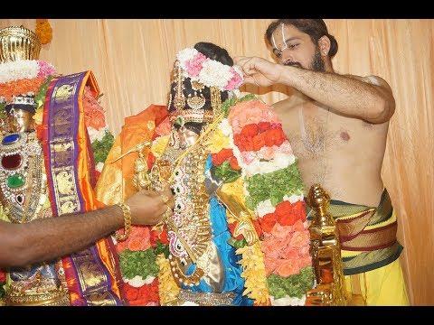 Thirukalyanam Sri Andal on Thiruvadipooram Chembur Ahobila Mutt
