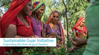 Marudhan, the Sustainable Guar Initiative of Solvay